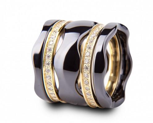 Schwarz Ringe